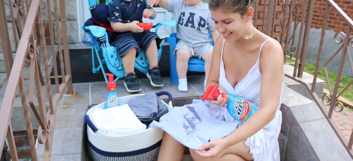 Getting Clean with OxiClean