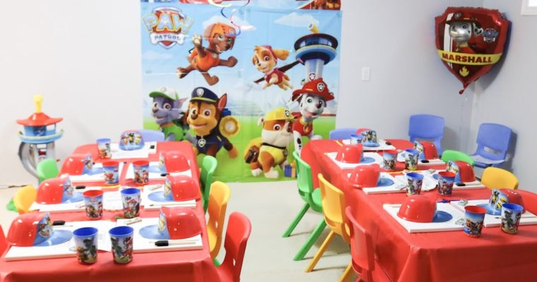 Choo Choo's 2nd Paw Patrol Birthday Party