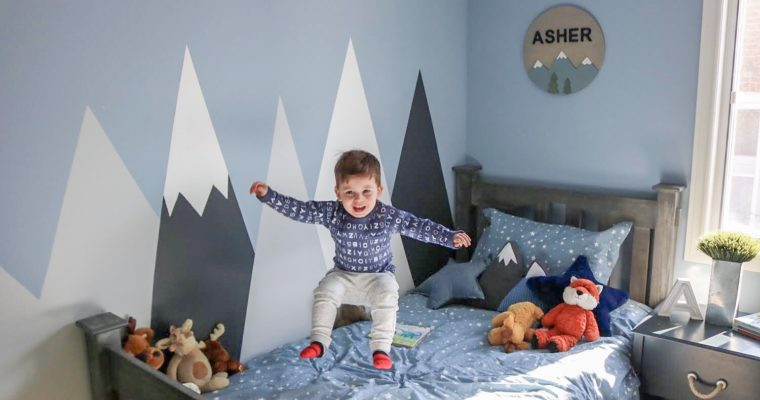 Asher's Big Boy Room Reveal