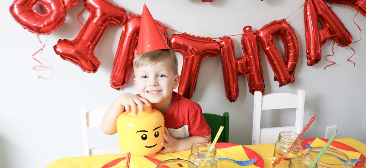 How To Throw Your Own LEGO Party