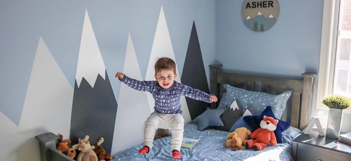 Asher's Big Boy Room Reveal